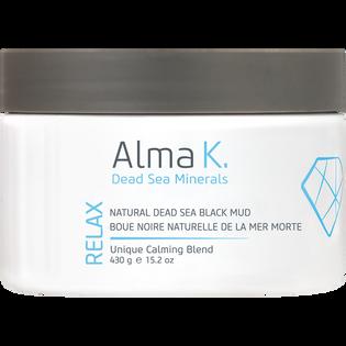 Alma K._Relax_naturalne czarne błoto z Morza Martwego do ciała, 430 g