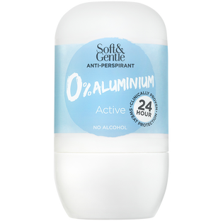 Soft And Gentle_Bez Aluminium_antyperspirant w kulce bez aluminium o lekkim, energetyzującym zapachu zielonej herbaty, 50 ml