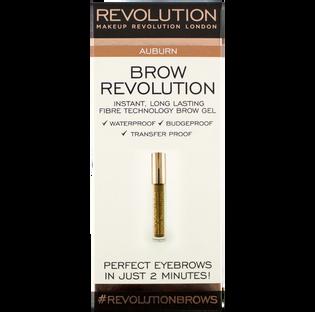 Revolution Makeup_żel do brwi auburn, 25 g