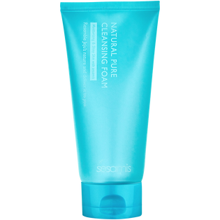 Sesamis_Natural Pure_pianka oczyszczająca do twarzy, 150 ml_1