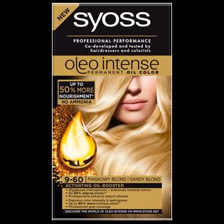 Syoss_Oleo Intense_farba do włosów 9-60 piaskowy blond, 1 opak.