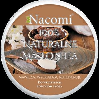 Nacomi_czyste, rafinowane masło shea do ciała o działaniu nawilżającym, natłuszczającym i regenerującym, 100 ml