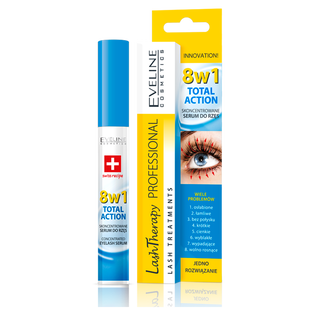 Eveline Cosmetics_Lash Therapy Professional Total Action_serum do rzęs 8w1, 10 ml