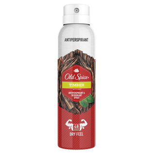 Old Spice_Timber_antyperspirant męski w sprayu, 125 ml