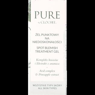 Pure By Clochee_żel punktowy na niedoskonałości do twarzy, 15 ml_2