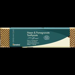 Himalaya Herbals_Neem & Pomegranate_organiczna pasta do zębów, 113 ml