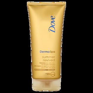 Dove_Derma Spa_samoopalający balsam do ciała do jasnej i średniej karnacji, 200 ml