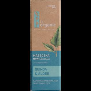 Be Organic_Quinoa & Aloes_nawilżająca maska do twarzy, 30 ml_2
