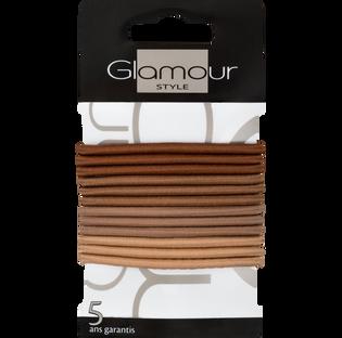 Glamour_gumki do włosów, 12 szt./1 opak._2
