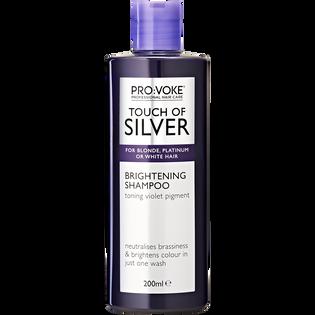 Provoke_Touch of Silver_szampon rozjaśniający do włosów w chłodnych odcieniach blondu, 200 ml