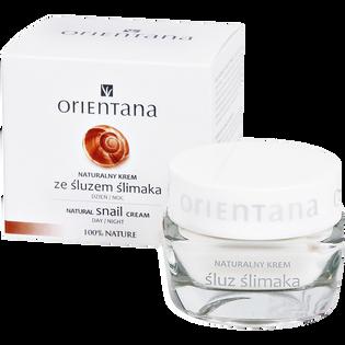 Orientana_Natural Snail Cream_regenerujący krem do twarzy ze śluzem ślimaka, 50 ml