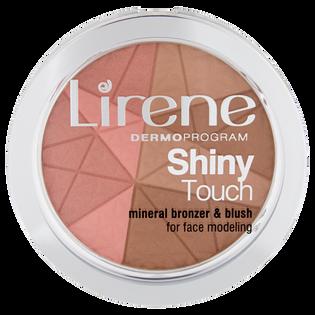 Lirene_Shiny Touch_bronzer z różem mineralnym w kamieniu do modelowania owalu twarzy, 9 g