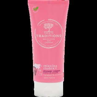 Treets Traditions_Relaxing Chakras_zestaw: krem do ciała, 50 ml + żel pod prysznic, 200 ml + pianka pod prysznic, 200 ml_2