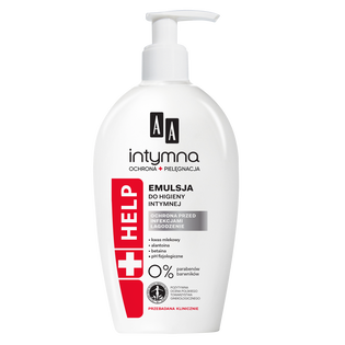 AA_Intymna Ochrona & Pielęgnacja Help_emulsja do higieny intymnej, 300 ml