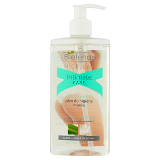 Bielenda_Intimate Care_micelarny płyn do higieny intymnej aloes + kwas mlekowy, 300 ml
