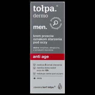 Tołpa_Dermo Men Anti Age_krem przeciw oznakom starzenia pod oczy, 10 ml