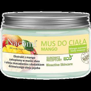 Nacomi_ujędrniający mus do ciała o zapachu mango, 150 ml