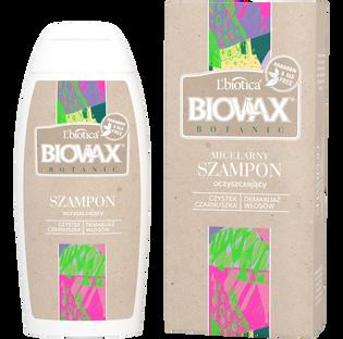 L'Biotica_Biovax Botanic_szampon micelarny z czarnuszką i czystkiem, 200 ml