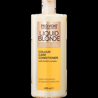 Provoke_Liquid Blonde_odżywka do włosów farbowanych w ciepłych odcieniach blond, 400 ml