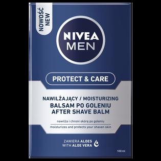 Nivea Men_Protect & Care_nawilżający balsam po goleniu z witaminą E i prowitaminą B5, 100 ml