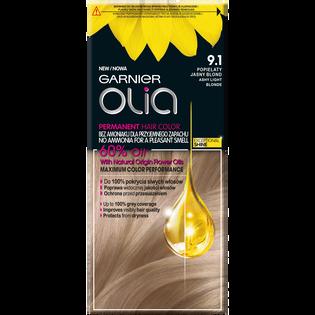 Garnier_Olia_farba do włosów 9.1 popielaty jasny blond, 1 opak.