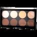 Revolution Makeup_Iconic Lights & Contour Pro_zestaw do konturowania twarzy, 11 g_1