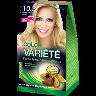 Color Variete_Słone blond_farba do włosów 10.3 słoneczny blond, 1 opak.