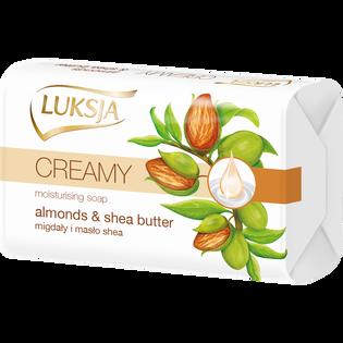 Luksja_Migdały i masło shea_kremowe mydło w kostce, 90 g