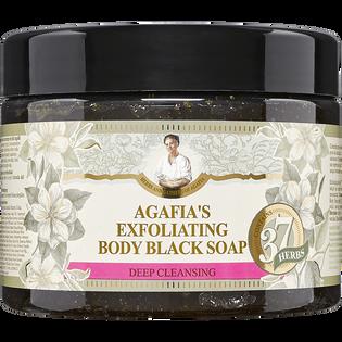 Babuszka Agafia_oczyszczająco-złuszczające mydło do ciała, 300 ml