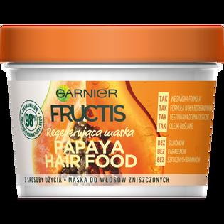 Garnier Fructis_Papaya Hair Food_maska do włosów zniszczonych, 390 ml