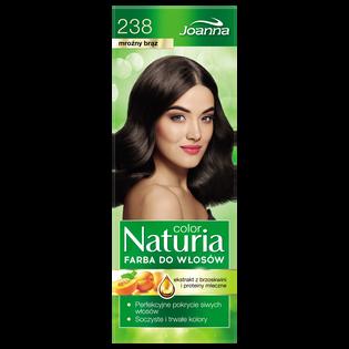 Joanna_Naturia Color_farba do włosów 238 mroźny brąz, 1 opak.