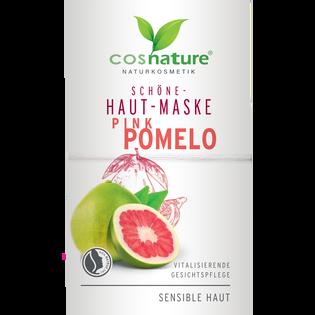 Cosnature_Naturkosmetik_naturalna upiększająca maska do twarzy z różowym pomelo, 16 ml