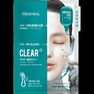 Mediheal_Capsule100_nawilżająca dwuetapowa maska do twarzy, 23 ml