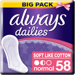 Always Dailies Soft Like Cotton Normal