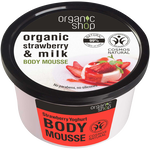 Organic Shop Strawberry Yoghurt