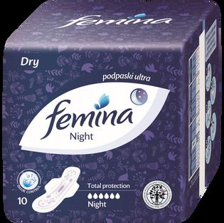 Femina_Night_podpaski, 10 szt./ 1 opak.
