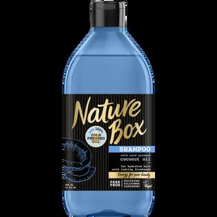 Nature Box_Kokos_szampon do włosów z olejkiem kokosowym, 385 ml