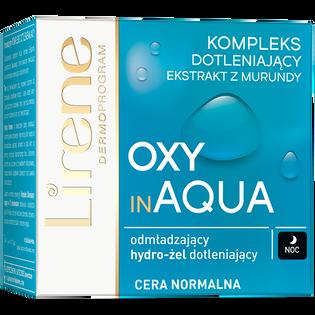 Lirene_Oxy in Aqua_dotleniający hydro-żel do twarzy na noc do cery normalnej, 50 ml