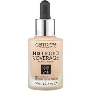 Catrice_HD Liquid Coverage_podkład do twarzy rose beige 020, 30 ml