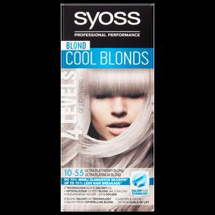 Syoss_Blond Cool Blonds_farba do włosów 10-55 ultra platynowy blond, 1 opak.