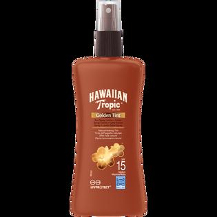 Hawaiian Tropic_Golden Tint_lotion do opalania w sprayu SPF 15, 177 ml