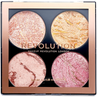 Revolution Makeup_Cheek Kit Fresh Perspective_paleta do konturowania twarzy, 3 g