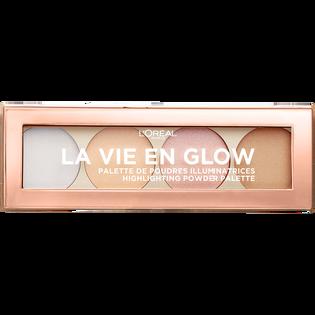 L'Oréal Paris_La Vie En Glow_paleta rozświetlaczy do twarzy Eclat Froid 02, 6 g