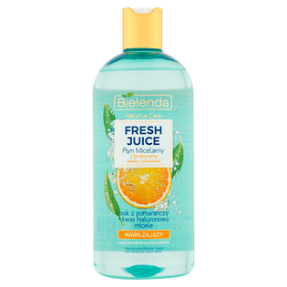 Bielenda_Juicy_płyn micelarny z bioaktywną wodą cytrusową nawilżający, 500 ml