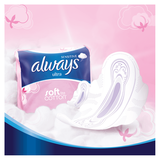 Always_Sensitive Long Ultra_podpaski higieniczne ze skrzydełkami, 8 szt./1 opak._2