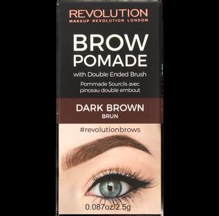 Revolution Makeup_Dark Brown_pomada do stylizacji brwi dark brown, 8 g