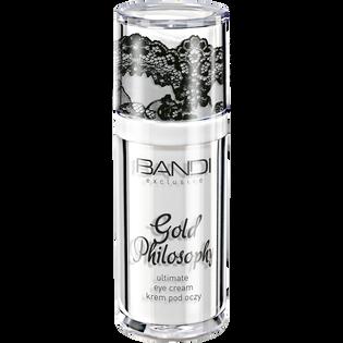 Bandi_Gold Philosophy_ujędrniający krem pod oczy, 30 ml