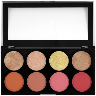 Revolution Makeup_Ultra Blush Palette_paleta róży do policzków blush goddess, 13 g_2