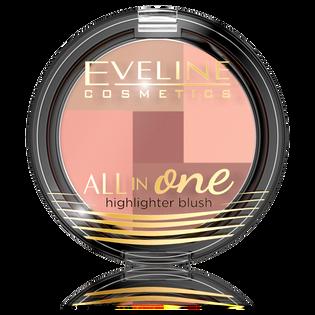 Eveline_All In One_rozświetlający róż do policzków 1, 6 g