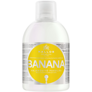 Kallos_Banana_szampon do włosów z bananem, 1000 ml